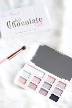 Too Faced White Chocolate Chip Palette... Im breaking down all the nitty gritty details so you can figure out whether or not its worth your hard earned cash!