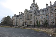Denbigh Asylum, North Wales.  Closed in 1995.  The mid-1990's saw many asylums abandoned and closed.