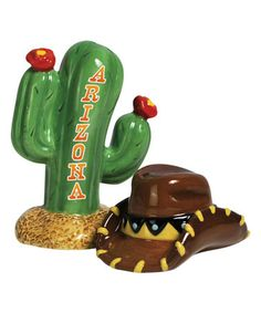 This 'Arizona' Salt & Pepper Shakers is perfect! #zulilyfinds