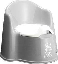 BabyBjörn Potty Chair - grey `One size Pot intérieur amovible, Easy to clean, Déflecteur à lavant du pot évitant les débordements intempestifs, Surfaces intérieures et extérieures lisses : évite les risques de pincement, Base du po http://www.comparestoreprices.co.uk/january-2017-7/babybjã¶rn-potty-chair--grey-one-size.asp