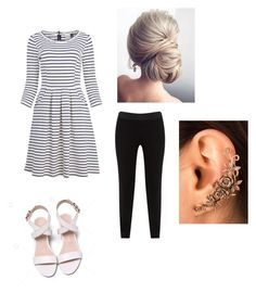 """cut 😍"" by girafmorg ❤ liked on Polyvore featuring JunaRose"