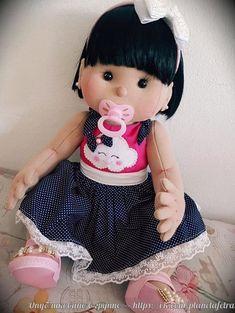 Cloth Doll - Kit and pdf Pattern My Child Doll, Baby Doll Nursery, Newborn Baby Dolls, Doll Sewing Patterns, Sewing Lessons, Waldorf Dolls, Soft Dolls, Fabric Dolls, Beautiful Dolls