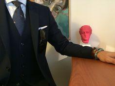 Men's style, tie, tailor