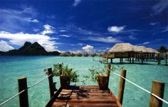Tahiti!!! This is probably in my top 3 places i want to travel! It's so beautiful there!