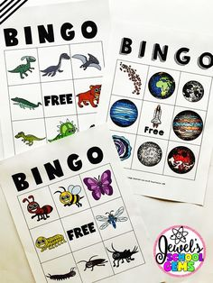 BINGO GAMES | BINGO CARDS | BINGO PRINTABLES by Jewel Pastor of Jewel's School Gems | Here is one way you can create an engaging reinforcement activity with very little effort. The few extra minutes it takes to turn review work into a game is so worth it in terms of outcomes. A great way to reinforce previously learned concepts is by playing bingo. If you are in a time crunch, I have several inexpensive bingo games in my store. Check them out! #teacherspayteachers #science #bingo