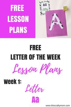 Looking for free Preschool Lesson plans. Here is the in a letter of the week series! This plan has tons of ideas for teaching the letter a, as well as links to pins with lots more free stuff! Click through to check it out! Preschool Learning Activities, Free Preschool, Teaching Kindergarten, Alphabet Activities, Preschool Teachers, Preschool Graduation, Preschool Curriculum, Preschool Worksheets, Learning Games