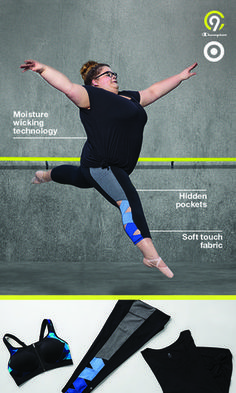 Keep your workout style on point in new C9 Champion fitness gear, featuring leggings with next-level details like hidden pockets, trendy lattice elements, and Duo Dry + moisture wicking stretch fabric—allowing you to move in comfort and leap without limits. Introducing the new kind of strong. Only at Target.