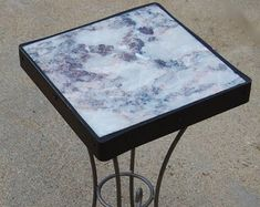 Marble 167 - Edit Listing - Etsy Accent Tables, Recycled Materials, Natural Stones, Folk Art, Marble, Nature, Furniture, Etsy, Home Decor