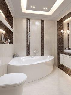 homedecor bathroom 55 Bathroom Interiors To Add To Your List interiors homedecor interiordesign homedecortips Bathroom Design Luxury, Bathroom Layout, Modern Bathroom Design, Home Interior Design, Small Bathroom, Bathroom Ideas, Bathroom Design Inspiration, Bad Inspiration, Design Case