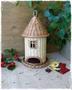 """Кухня ручной работы. Ярмарка Мастеров - ручная работа. Купить """"Чайная пауза"""" плетеный домик для чая. Handmade. Домик для чая"""