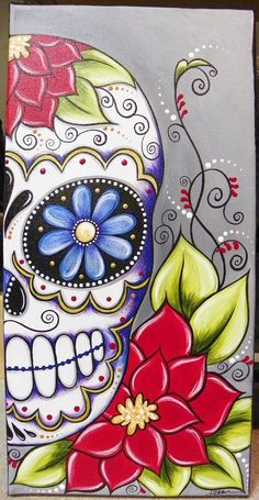 acrylics 8x16 canvas see my available artwork at www.facebook.com/meganksuarezfineart