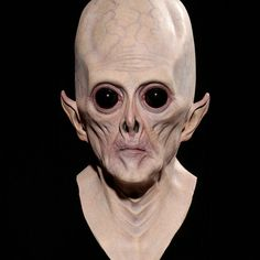Halloween Big Eye Aliens Mask Hoods Cosplay Props Free Shipping