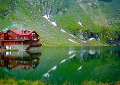 Lake House - Balea Lac, Romania - Adina Buliga