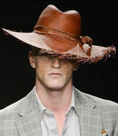 Hats for Vivienne Westwood Man - Spring Summer 2013 - Prudence Millinery