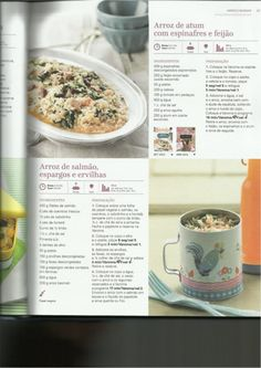 150 receitas as melhores de 2013 Betty Crocker, Healthy Recipes, Healthy Food, Seafood, Oatmeal, Recipies, Cheesecake, Food And Drink, Favorite Recipes