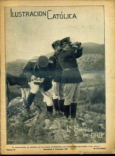 LA HORMIGA DE ORO 9 DIC. 1911 - GUERRA COLONIAL DE MARRUECOS