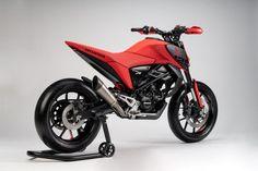 Honda Concept Makes Mini-Motos Great Again Concept Motorcycles, Used Motorcycles, Honda Motorcycles, Honda Grom, Retro Motorcycle, Cafe Racer Motorcycle, Trail Motorcycle, Honda Bikes, Honda S