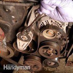 Changing a Car Serpentine Belt Truck Repair, Vehicle Repair, Engine Repair, Car Engine, Garage Repair, Car Fix, Auto Parts Store, Car Hacks, Diy Car