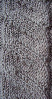 Illusions - the non-cabled cable #knitting #patterns