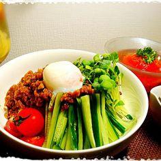 今晩の飯。 - 34件のもぐもぐ - ★ジャージャー麺②★ by BLUEZ33