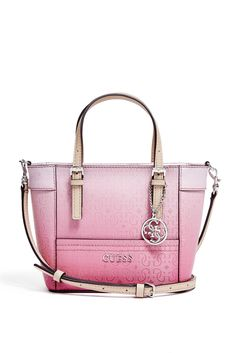 Delaney Ombre Mini Tote / GUESS.com