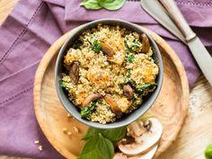 Starkes Superfood! One Pot Quinoa mit Hähnchen und Spinat