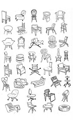 Bruno Munari - All This Talk Interior Design Sketches, Industrial Design Sketch, Sketch Design, Sketch Art, Sketchbook Drawings, Chalk Drawings, Sketching, Architecture Drawing Art, Pattern Coloring Pages