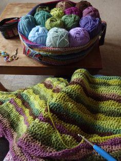 Moorland Blanket CAL : Part 2