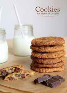L'incontournable recette des cookies aux pépites de chocolat, celle que l'on aime réaliser encore et encore…