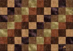 Diagonal Patchwork Contemporary - Design your Own Custom Area Rug at www.HighCountryRugs.com