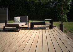 Lame de Terrasse en bois composite, , Emotion Savane - Authentique et chaleureuse La Parqueterie Nouvelle