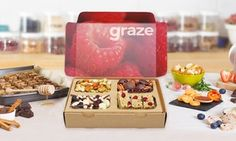 Groupon - Four Snack-Box Deliveries from graze.com. Groupon deal price: $24