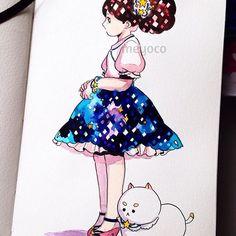 Starry skirt