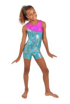 Girls Zebra sleeveless leotard ALL SIZES dance gymnastics acro freestyle