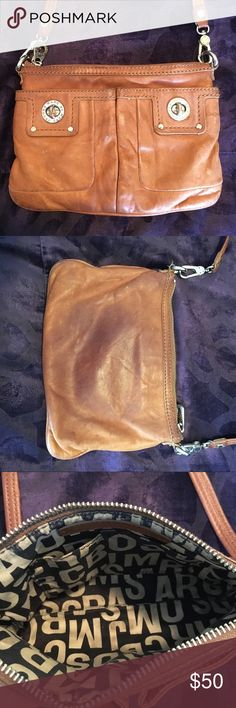 Authentic Marc Jacobs Cross body bag Brown leather authentic cross body bag - MARC JACOBS Marc Jacobs Bags Crossbody Bags