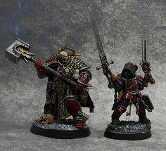 Warhammer Inquisitor, Warhammer Armies, Warhammer 40k Figures, Warhammer Art, Warhammer Models, Warhammer 40k Miniatures, Warhammer 40000, Warhammer Dark Angels, Warhammer Fantasy Roleplay