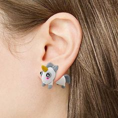 Exclusive! Magical Unicorn Earrings (and other unicorn swag)