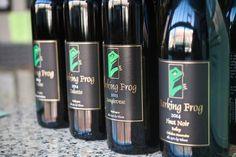 Barking Frog Winery Review (Carlton, OR) Oregon Wine Country, Bottle, Drinks, Drinking, Beverages, Flask, Drink, Beverage, Jars