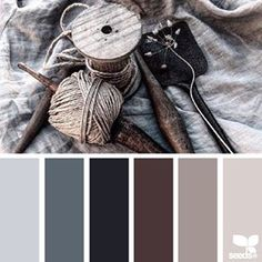 today's inspiration image for { rustic tones } is by @erikadeliadesign ... thank you Erika for another inspiring #SeedsColor image share!