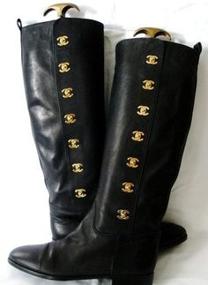Chanel boots....gorgeous