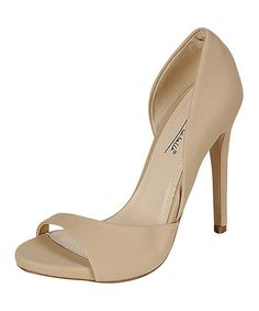 Take a look at this Nude Perton Pump on zulily today!