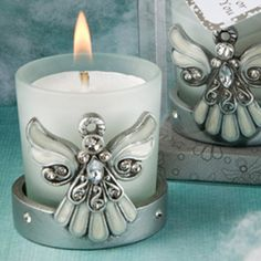 Angel Candle Holders. Light a candle to welcome the Angelic Presence to your home.
