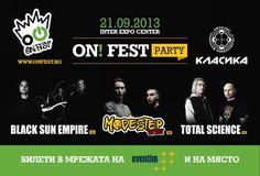 Modestep, Black Sun Empire и Total Science на ON! Fest 2013