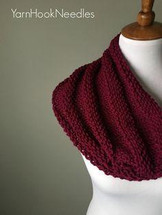 The Ridgeline Knit Cowl with FREE Pattern! – Yarn Hook Needles   Yarn Hook Needles