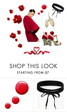 Valentines date by shoebedo on Polyvore featuring moda, Boohoo and Topshop