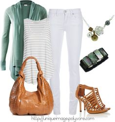 """Mint Green"" by uniqueimage ❤ liked on Polyvore"