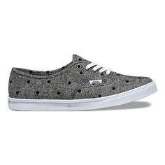 0492eca5d4729d Tweed Dots Authentic Lo Pro Vans Shoes Women