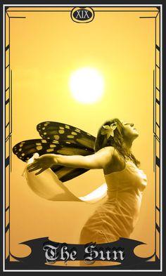 Tarot Deck: The Sun by ~MerciRae on deviantART