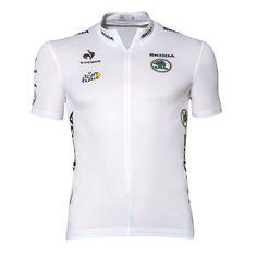 Maillot blanc du Tour de France Le Coq Sportif Boutique officielle Tour de  France Cycling Outfit f1a021bc1