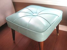 Mid Century Modern Ottoman Babcock Phillips Stool by saltandginger, $72.00
